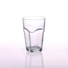 Gobelet en verre transparent carré de 13 oz
