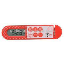 Miniprivée numérique à couteau, minuterie de cuisine avec ouvre-porte KT-116