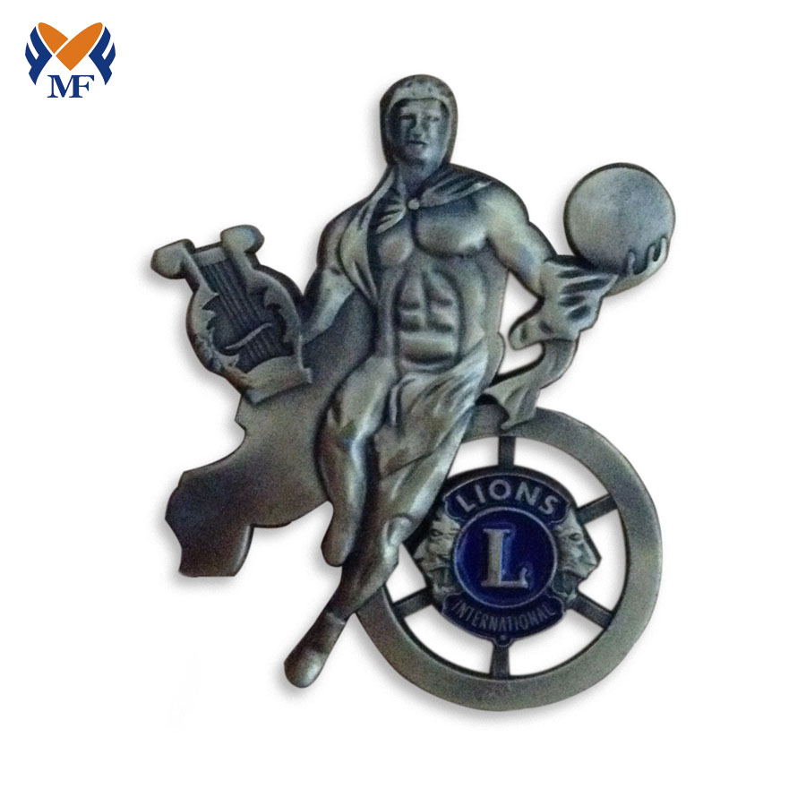 Metal Lapel Badge Custom