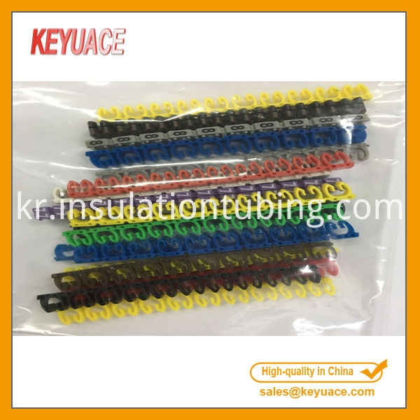 0 9 Coded Plastic Cable Marker