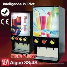 Distributeur de jus concentré glacé et concentré Leader Machine à café haut Aiguo 3s / 4s