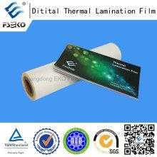 Película Térmica de BOPP Adhesivo Fuerte para Impresión Digital
