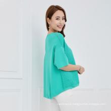 2017 new hollow jacket sweater women's shirt