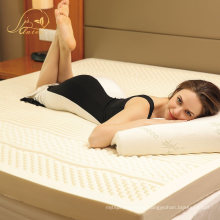 Manufacturers Private Label on Natural Latex Mattress Topper for King Size Bedding Set