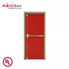 Asico 2 Hours Fire Rated Door Steel Fire Door With UL Certified