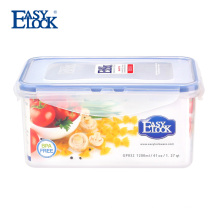 Airtight plastic cheese storage box