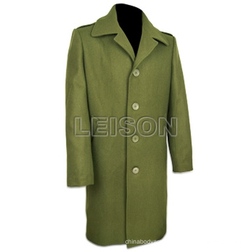 Military Official Overcoat Wool with ISO Standard