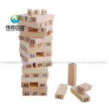 Classic Wooden Children Creative & Mathematic Ability Training & Develope Educational & Funny Number Building Blocks Intelligent Toy Bricks
