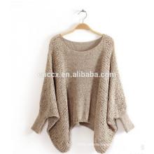 15JWT0111 woman summer poncho sweater bat sleeves