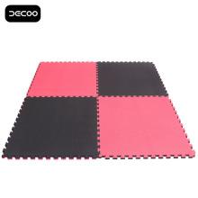 Couleur noire rouge cinq bandes Grappling EVA Tatami Puzzle Mat