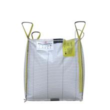 High qulity bags 1000kg 1 ton 2000kg anti static PE conductive fibc jumbo big bags for sale
