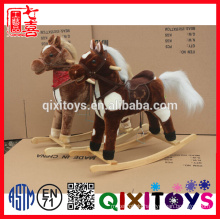 kids swing horse musical rocking horse toy with factory price