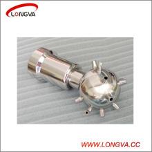 Санитарно-гигиеническая нержавеющая сталь с внутренней резьбой