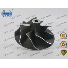 K03 K04 Super Back Compressor Wheel para Audi VW Opel com SGS aprovado