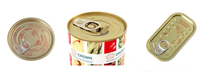 leicht zu öffnende Aluminiumtür kann für die Herstellung von Tomatenmark hergestellt werden