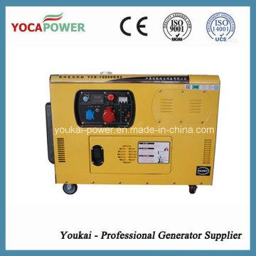 Electric Start 10kVA Single Phase Silent Diesel Generator