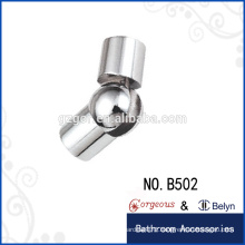 360 degree Rotatable connecting piece glass connector