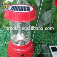 Домашняя система Солнечной Кемпинг фонарь светодиодный фонарь с мобильного телефона зарядное устройство