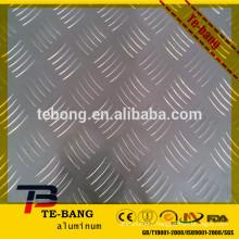Stucco Embossed Aluminum Sheet / Diamond Checkered Sheets 0.5mm - 2mm