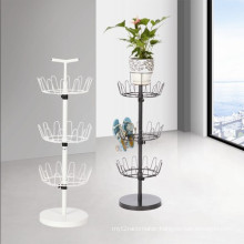 Furniture Display Rack Metal Revolving Shoe Rack with CE (BDS-028)