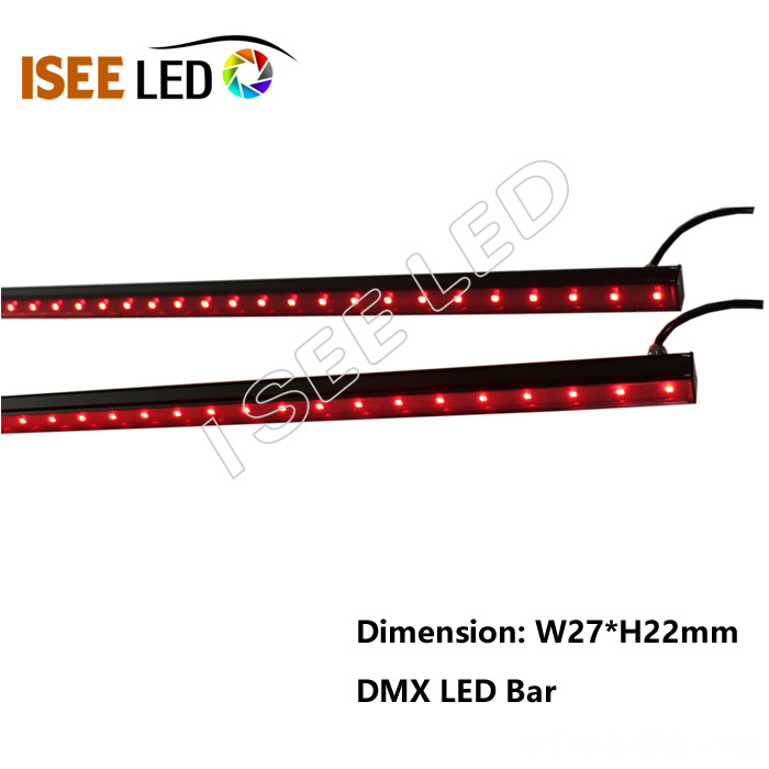 Music Sync DMX512 Pixel RGB Bar Lights