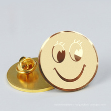 Customized Round Magnet Emblem for Dripping Rubber as Epoxy Resin Commemorative Badge for Company