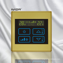 2 Pipe Air-Conditioner Thermostat Touch Switch in Plastic Frame (SK-AC2300B-2P)