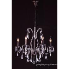 Antique Iron Crystal Chandelier Pendant Lamp (cos9216)