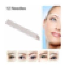 # 12 agujas 3D del bordado de la ceja, lámina 3D de Microblading.