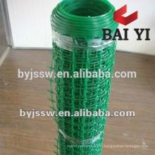 Grillage en plastique expulsé de reproduction de volaille, maille en plastique flexible, maille filtrante en plastique