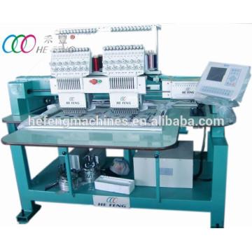 Machine de broderie informatisée tubulaire multifonctionnelle à 2 têtes