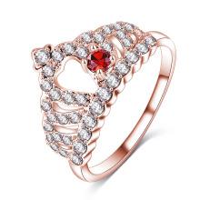 CZ Diamond Royal Crown Queen Finger Ring Wholesale (CRI1011)