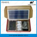 8W off Grid Solar Energy System with 4PCS LED Bulbs