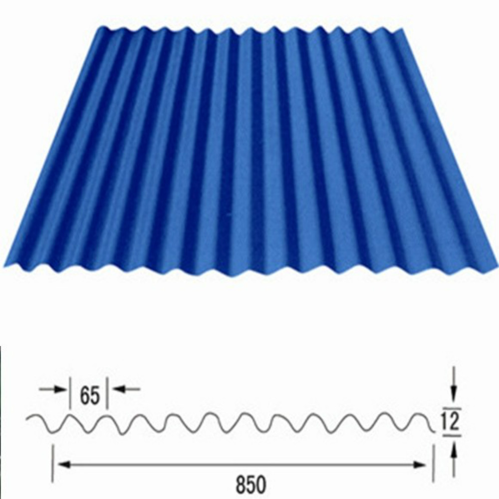 Low Cost Building Material Corrugated Metal Roofing Sheet