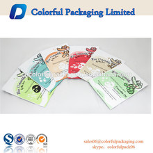 Sacos de embalagem por atacado saco da folha de alumínio para máscara facial