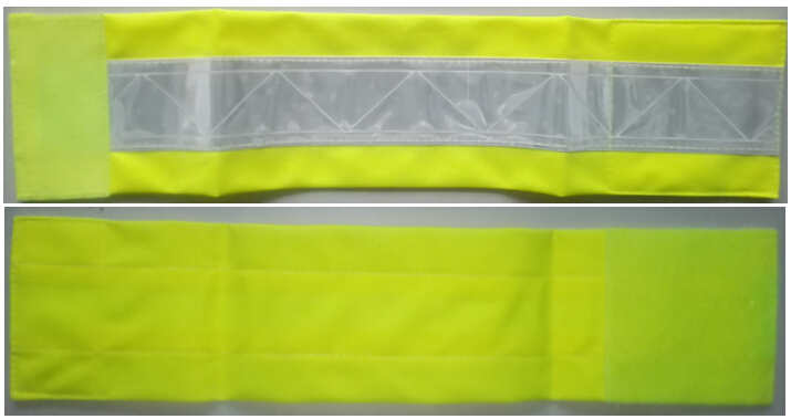 Yellow Armband 3M PVC Tape