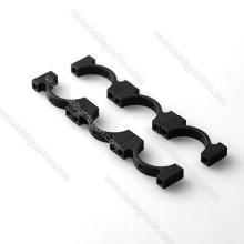 OEM carbon tube 25mm OD aluminum tube clip for FPV/ Drones