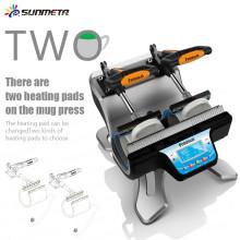 FREESUB Sublimation Glass Coffee Mugs Printing Machine