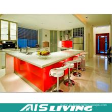 Gabinetes de cocina del armario ULTRAVIOLETA con los grifos (AIS-K194)