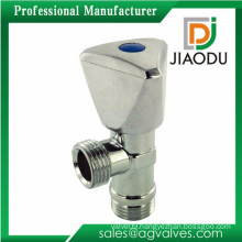 best selling forged cw617n brass handle brass angle valve with rosette