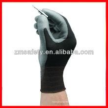 Polyurethane palm coating nylon gloves