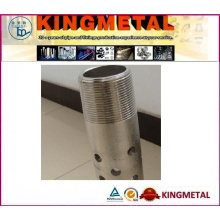Stainless Steel Perforated Pipe and Tube with Polishing