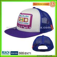 printed mesh snapback hats TC-0055