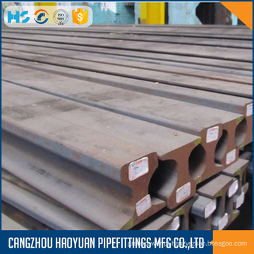 Trilho de aço 30kg usado na estrada de ferro