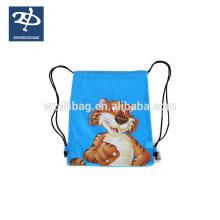 Custom Wholesale Drawstring Polyester Bag Cheap Sports Backpack