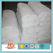 Tela de linho de cama lisa branca de T / C 50/50 Polycotton para o fundamento