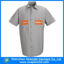 Camisas do verão dos homens da camisa dos fornecedores da camisa de China