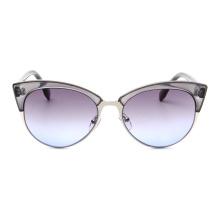 gafas de sol de encargo de la fábrica de China de las mujeres de la moda