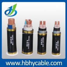 Cable de alimentación aislado de 0.6 / 1kv PVC