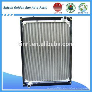 Radiateur à camouflage en cuivre en aluminium, en cuivre et en laiton 1131713180302 pour camion chinois Foton Auman